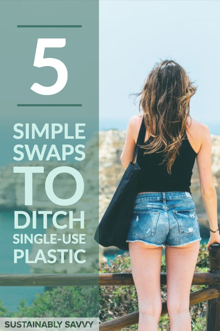 5 simple swaps to ditch single use plastic