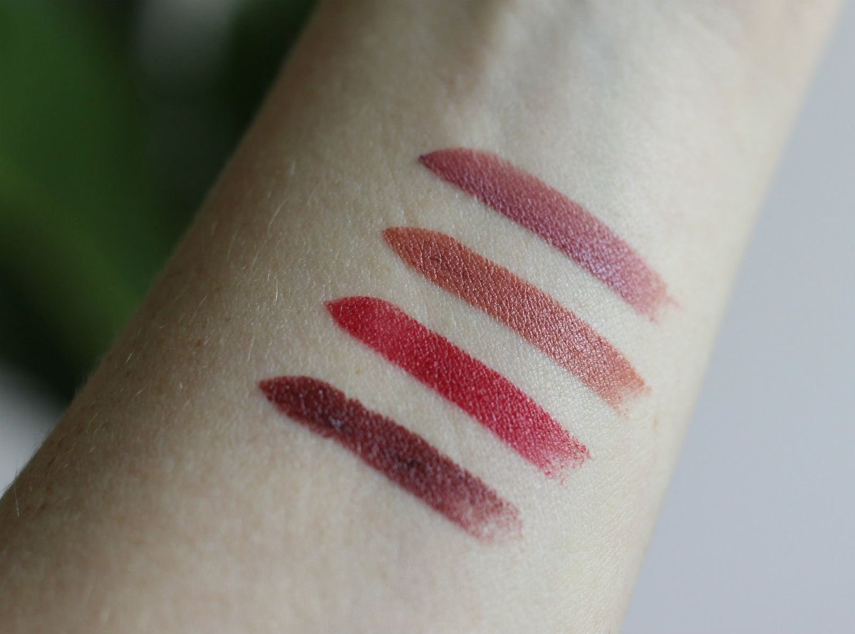 Bite Beauty Amuse Bouche Four Little Bites Swatches