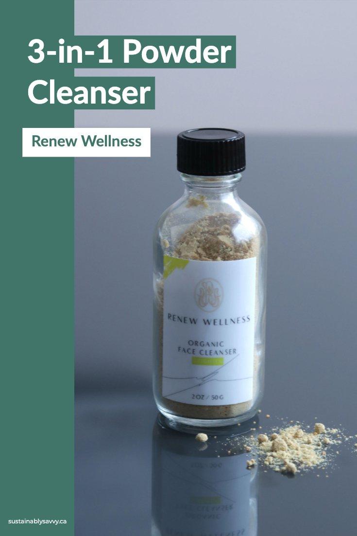 renew wellness 3in1 cleanser