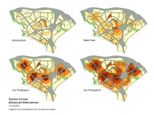 Density Concentrated Around Metro Stations tysonscorner.wordpress.com