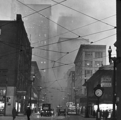 Pittsburgh in the Morning - 1952 University of Pittsburgh