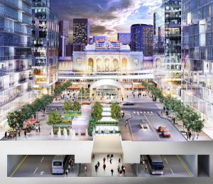 Denver's New Union Station. Jay Roberts Cited Denver's Ability to Attract Jobs and Residents Through Infrastructure Spending as a Reason for His New Stance