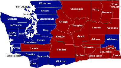 Turns Out Everyone Lives in Western Washington