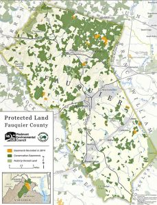 Fauquier County, Virginia is one such locality that has a special overlay district to guide the location of conservation easements fauquiernow.com