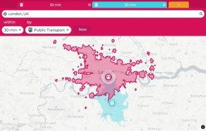 London Travel Distances