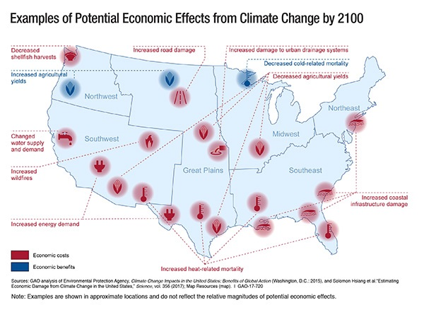 GAO Climate Map