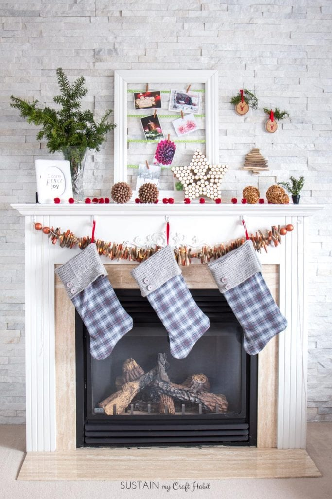 How To Make Rustic Christmas Decorations