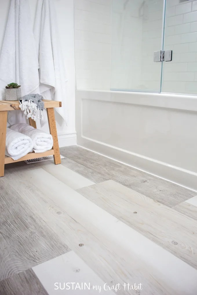 can you install luxury vinyl plank