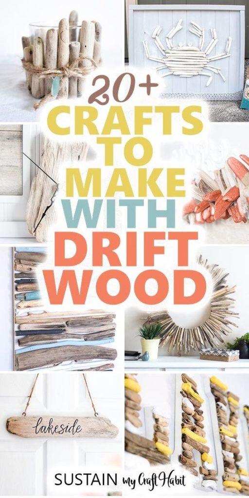 20 Fun Driftwood Crafts To Make This Summer Sustain My Craft Habit