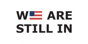 We Are Still In climate pledge logo