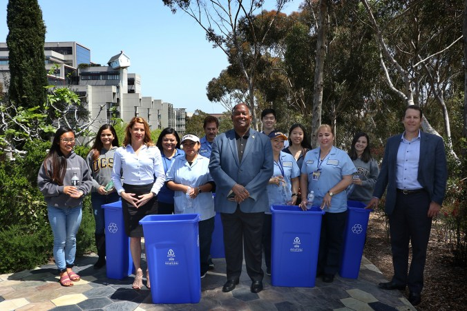 UC San Diego Wins Keep America Beautiful Recycling Grant