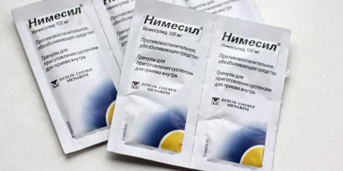 Нимесил в лечении простатита staphylococcus haemolyticus и простатит