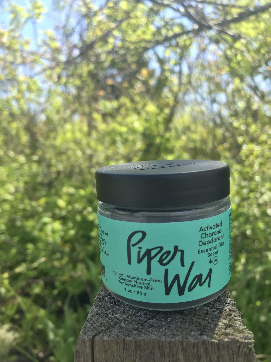 Piper Wei deodorant jar sustainable packaging