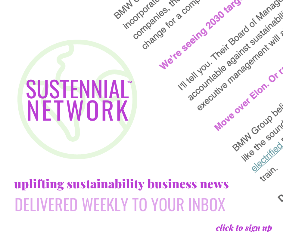 email sustainability news