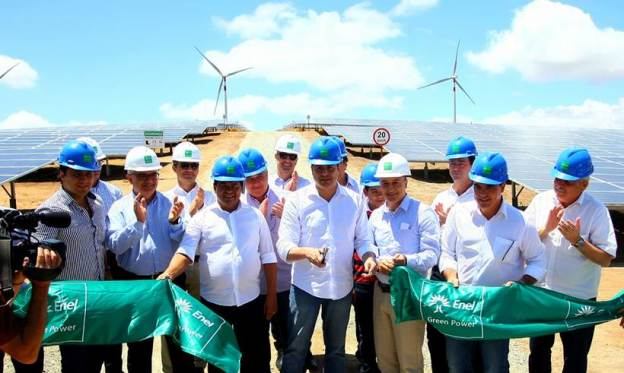 Parque híbrido de energia renovável
