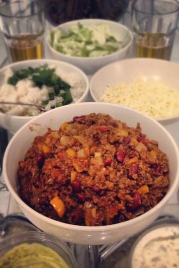 Vegetarian Chilli Burritos