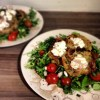 Risotto Cakes with Goat's Cheese Salad | Susty Meals