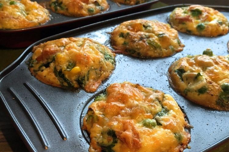 Hash 'n' Ham Breakfast Omelette Muffins | Vegetarian Recipes | Breakfast | Susty Meals | Sarah Irving
