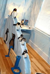 habitación pingüina