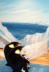habitación pingüinos