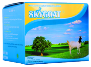 jual susu skygoat full cream plus propolis