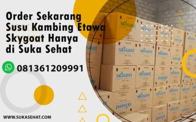 Distributor Susu Kambing Etawa SkyGoat Wilayah Aceh dan Sumatera Utara