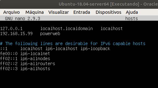 Ubuntu Server 18.04 -Ambiente de desenvolvimento I [ Servidor ]   Susviela Blog´s