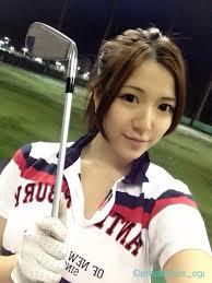 淡輪優希 ゴルフ
