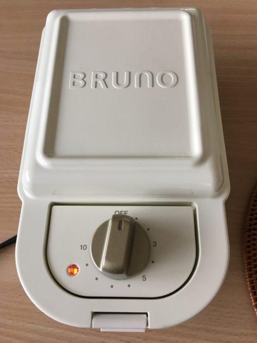 ブルーノ ホットサンドメーカーの画像