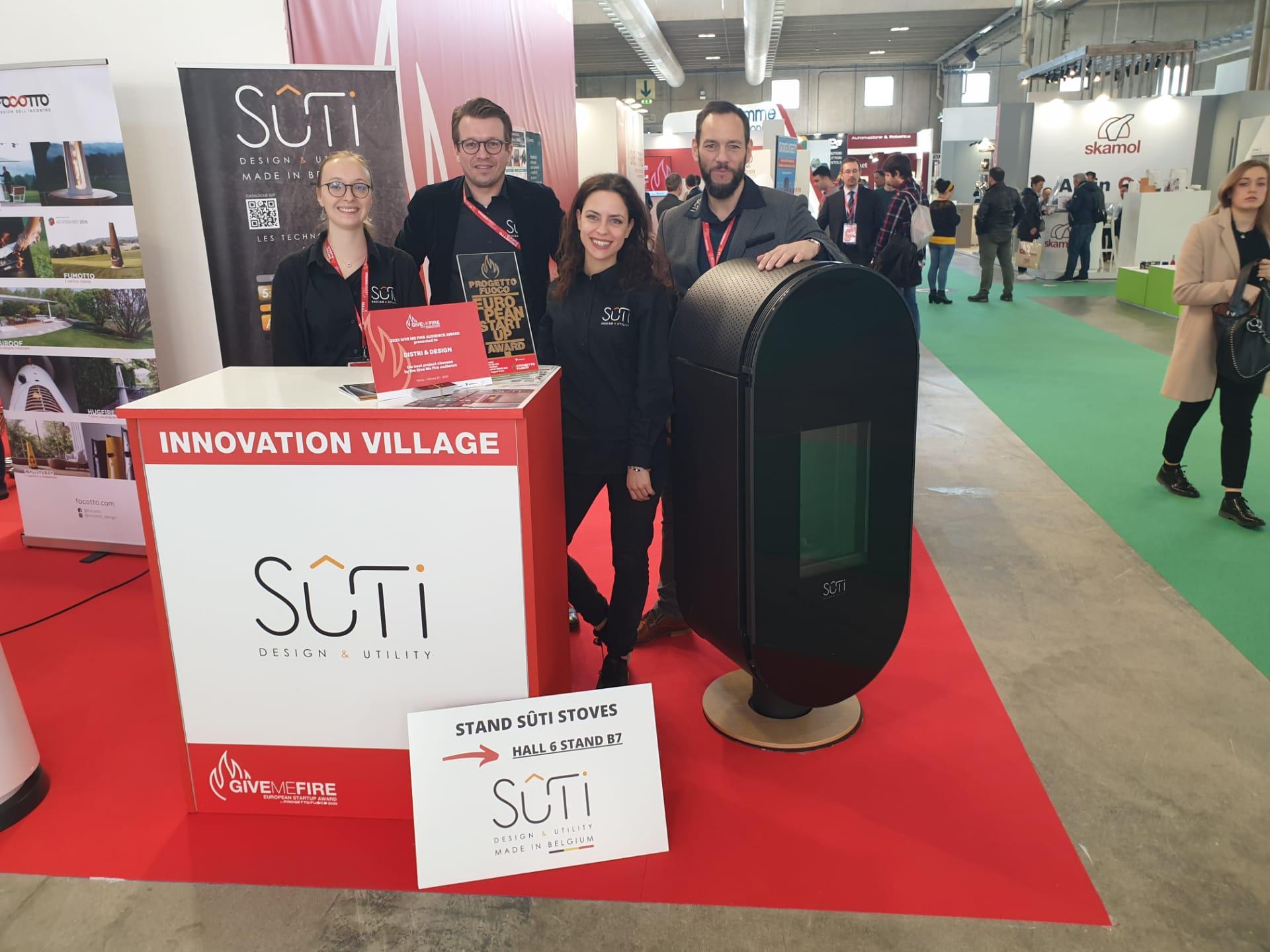 Sûti Design & Utility | Progetto Fuoco | TEAM