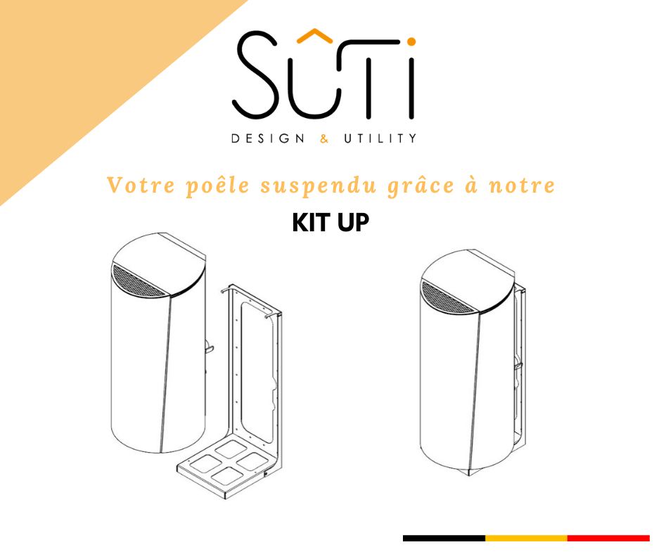 Sûti | Poêle à granulé design | KIT UP