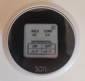 Menu Thermostat - Sûti