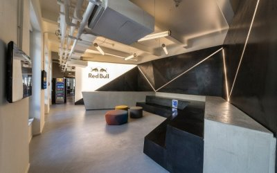 red bull office - Informasi Sutomo Tower