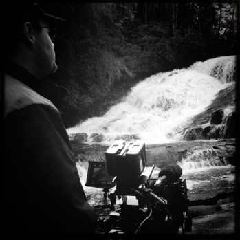 James Suttles behind the camera on the film alone yet not alone