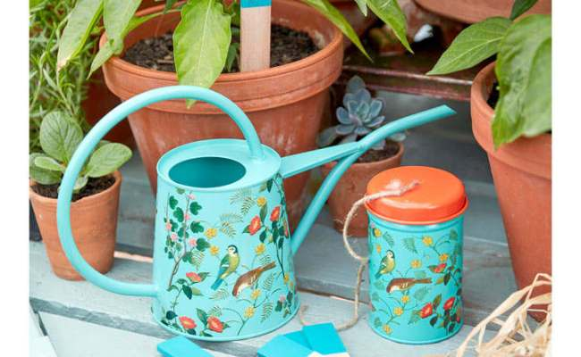 Watering Can Flora And Fauna Collection Gifts For Her