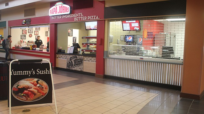 Yummy Sushi opened Monday in the Sharwan Smith Student Center next to Papa Johns.