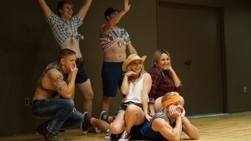 Performance at Derby Girl Pageant. Photo By Mitchell Quartz.