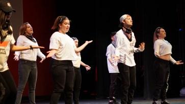 SUU Hip Hop Club at Mr. SUU. Photo by Mitchell Quartz.