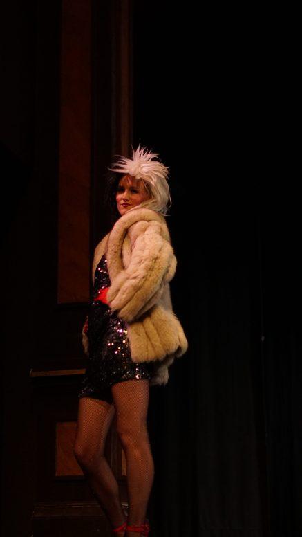 Haley Mineer during the spirit wear.