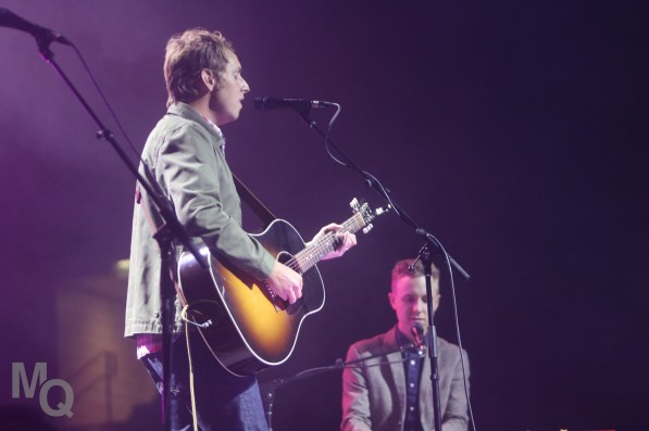Ben Rector, American singer, songwriter and musician, performed in the American First Credit Union Event Center on Oct. 3.