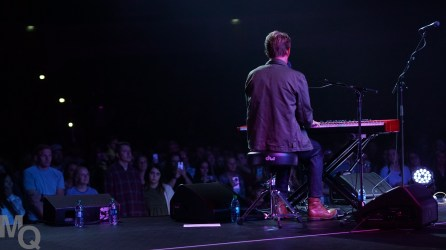 Ben Rector, American singer, songwriter and musician, performed to a crowd of well over 1500 people in the American First Credit Union Event Center on Oct. 3.Ben Rector, American singer, songwriter and musician, performed to a crowd of well over 1500 people in the American First Credit Union Event Center on Oct. 3.