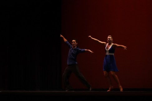 """SUU's touring team performing during at """"A Night of Dance."""""""