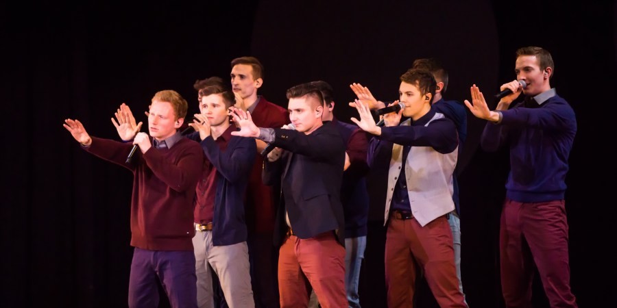 Just Nine Fellas and A Capella: Vocal Point in Concert – SUUNews