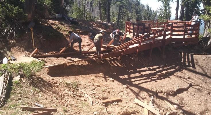 IIC Repairs Bristlecone Pine Trail and Overlook - SUU News