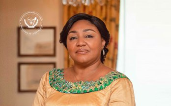 Headshot of the First Lady of the Democratic Republic of the Congo