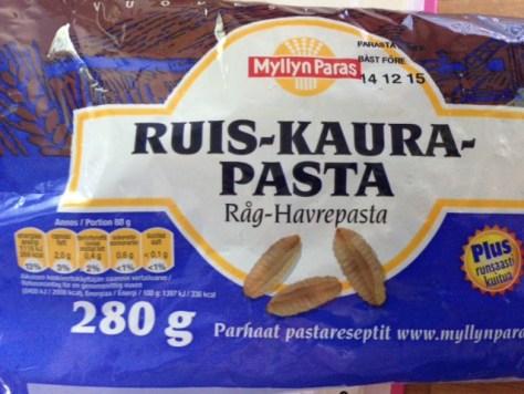 Ruis-kaura-pasta