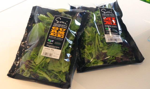 Sorri Mix'it - fiksu tapa tehdä salaattia