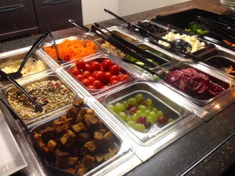 MBakery salaattibuffa