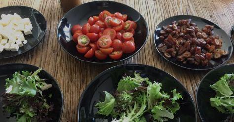 salaattiaporukalle