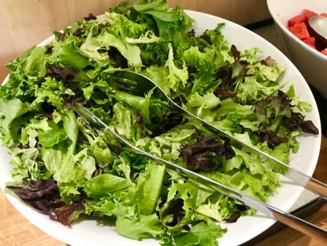 Sorrin salaattia